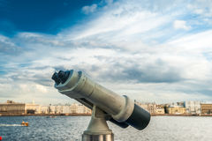 Tower viewer Stock Photography