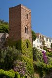 Tower in the village of Noli Stock Image
