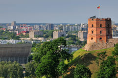 Tower in Vilnius Stock Photography