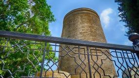 Maiden Tower - Qiz Qalasi- Baku stock image