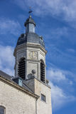 Tower of the Vlierbeek abbey in Leuven Stock Photography