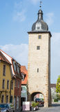 Tower in Volkach Royalty Free Stock Photo