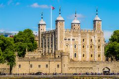 Tower von London Stockfoto