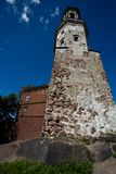 Tower in Vyborg Royalty Free Stock Photo