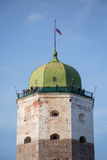 Tower of Vyborg, Russia Royalty Free Stock Photo