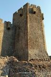 Tower and wall. Of monastery Manasija near Despotovats, serbia Royalty Free Stock Image