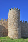 Tower of the wall of Avila Royalty Free Stock Image