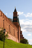 Tower and wall of the Moscow Kremlin Royalty Free Stock Photography