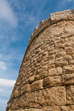 Tower wall venetian castle Royalty Free Stock Image