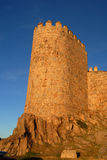 Tower of the walls of Avila Royalty Free Stock Photos