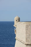 Tower and walls of Dubrovnik, Croatia. Stock Photography