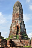 Tower at Wat Phra Ram Stock Image