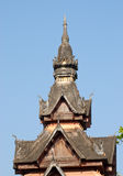 Tower at Wat Sisaket in Vientiane, Laos Stock Photo