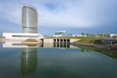 Tower of the water, Zaragoza. Aragon, Spain Royalty Free Stock Photos