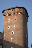 Tower of Wawel Hill, Krakow Royalty Free Stock Photo