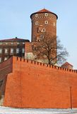 Tower of Wawel Royal Castle stock photos