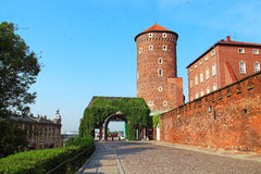 Tower of Wawel Royal Castle, Krakow, Poland Royalty Free Stock Image