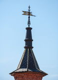 The tower with a weather vane Royalty Free Stock Photography
