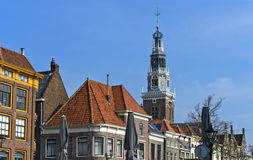 Tower of the Weighing Building, Alkmaar, Royalty Free Stock Image