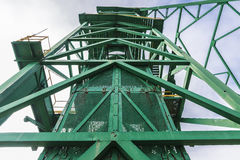Tower of a well extraction of a mine, Spain Stock Photo