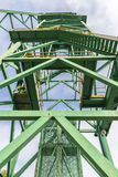 Tower of a well extraction of a mine, Spain Royalty Free Stock Photos