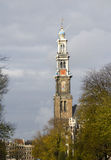 Tower of Westerchurch, Amsterdam Stock Photography