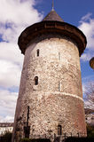 Tower where she was imprisoned St. Joan of Arc. Before the pyre Royalty Free Stock Photo