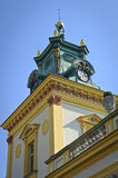 Tower of Wilanow Palace Stock Photos