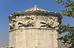 Tower of the wind-Gods, Athens, Gree Royalty Free Stock Image