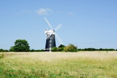 The tower windmill, Norfolk Royalty Free Stock Images