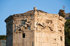 Tower of the Winds in Ancient Agora. Greece. Royalty Free Stock Photos