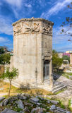 Tower of the Winds, Athens, Greece Royalty Free Stock Photo