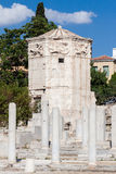 Tower of the Winds Athens Greece Royalty Free Stock Images