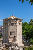 Tower of Winds in Athens, Greece Royalty Free Stock Image