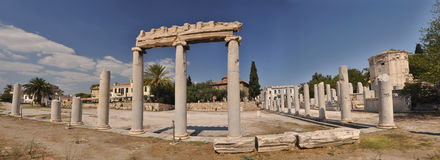 Tower of the winds (Horologion). Tower of the winds, Athena, Greece Royalty Free Stock Image