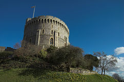 The tower at windsor castle. The tower(the keep) at windsor castle, england Royalty Free Stock Photos