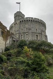 The Tower of Windsor Palace. This is the Tower of Windsor Palace shot on a cloudy day royalty free stock photos