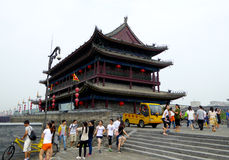 Tower on The Xi'an Circumvallation Royalty Free Stock Image