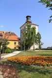 Tower at Zagreb, Croatia on summer day Stock Image