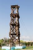 Tower zip Stock Photo