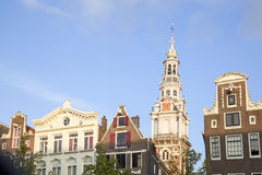 Tower of Zuiderkerk in Amsterdam Royalty Free Stock Photography