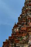 Towerb khmer e corvi Immagini Stock Libere da Diritti