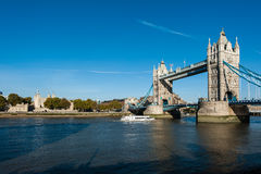 Towerbridge and London Tower Stock Image