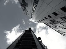 Towering Buildings Royalty Free Stock Photography