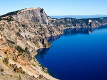 Towering Cliff, Crater Lake, Oregon Royalty Free Stock Photo