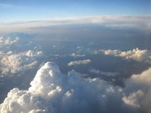 Towering clouds Stock Photography