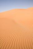 Towering Dune in the United Arab Emirates Stock Photo