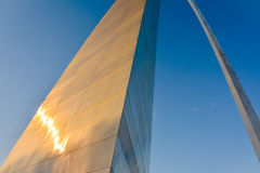 Towering Gateway Arch Royalty Free Stock Photo