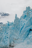 Towering glacial shapes Stock Photography