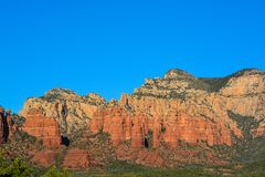 Towering landscape in Sedona Arizona.  Stock Images